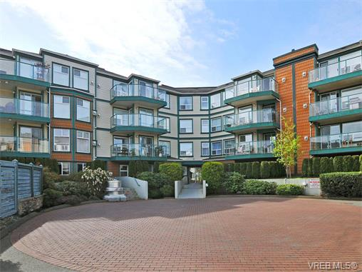 Main Photo: 204 898 Vernon Avenue in VICTORIA: SE Swan Lake Condo Apartment for sale (Saanich East)  : MLS® # 375242