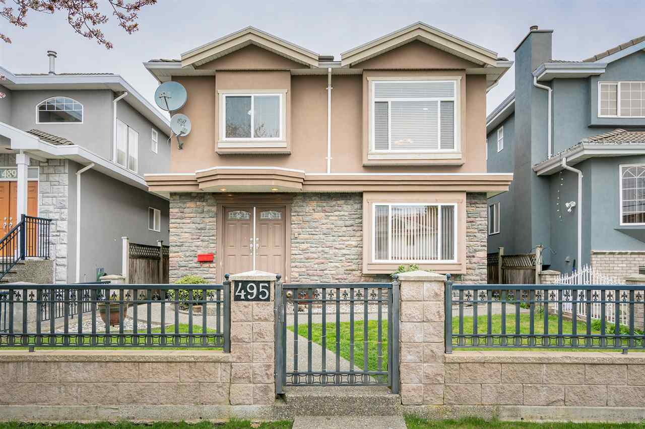 Main Photo: 495 E 58TH Avenue in Vancouver: South Vancouver House for sale (Vancouver East)  : MLS® # R2156314
