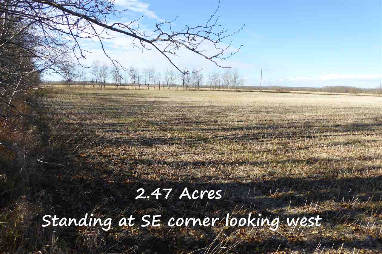 Photo 10: Twp580 RRG 254: Rural Sturgeon County Rural Land/Vacant Lot for sale : MLS® # E4066803