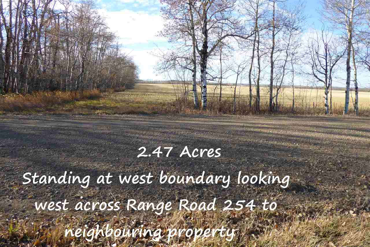 Photo 14: Twp580 RRG 254: Rural Sturgeon County Rural Land/Vacant Lot for sale : MLS® # E4066803