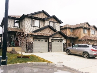 Main Photo: 2344 Casselman Cr in Edmonton: Zone 55 House Half Duplex for sale : MLS® # E4076300