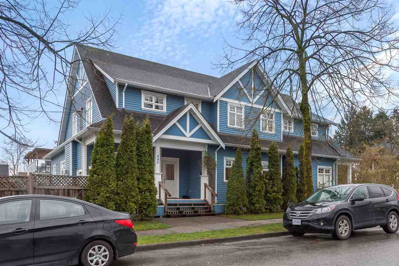 "Main Photo: 480 SEMLIN Drive in Vancouver: Hastings House 1/2 Duplex for sale in ""HASTINGS-SUNRISE"" (Vancouver East)  : MLS® # R2221694"