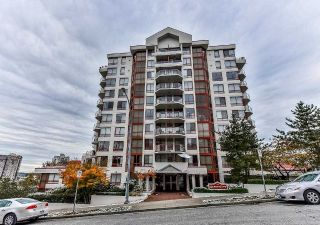 Main Photo: 801 220 ELEVENTH Street in New Westminster: Uptown NW Condo for sale : MLS® # R2223495