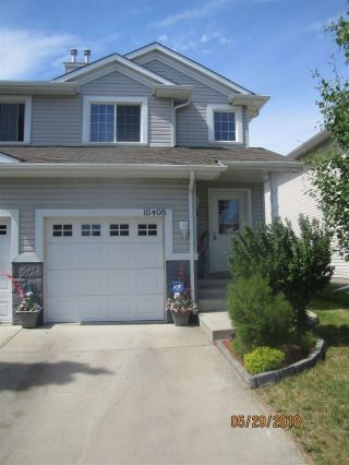 Main Photo: 16408 56 Street NW in Edmonton: Zone 03 House Half Duplex for sale : MLS®# E4113034