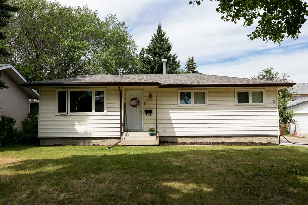 Main Photo: 5 SYCAMORE Avenue: St. Albert House for sale : MLS®# E4120413