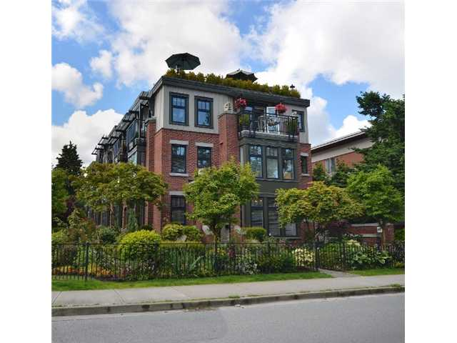 "Main Photo: 2010 W 1ST Avenue in Vancouver: Kitsilano Townhouse for sale in ""THE TOWNHOMES ON MAPLE"" (Vancouver West)  : MLS(r) # V892191"