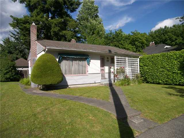 Main Photo: 505 4TH ST in New Westminster: Queens Park House for sale : MLS® # V1015696