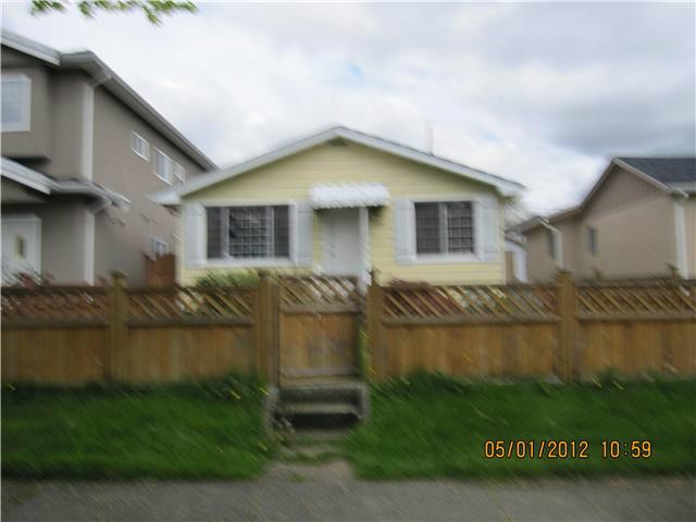 Photo 1: 3447 WILLIAM Street in Vancouver: Renfrew VE House for sale (Vancouver East)  : MLS(r) # V1042205