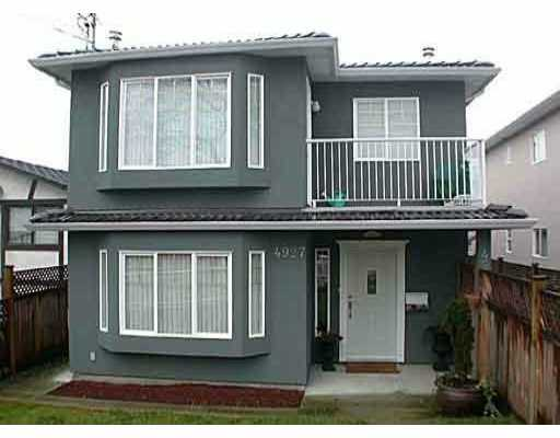 Main Photo: 4927 DOMINION ST in Burnaby: Central BN House 1/2 Duplex for sale (Burnaby North)  : MLS® # V523541