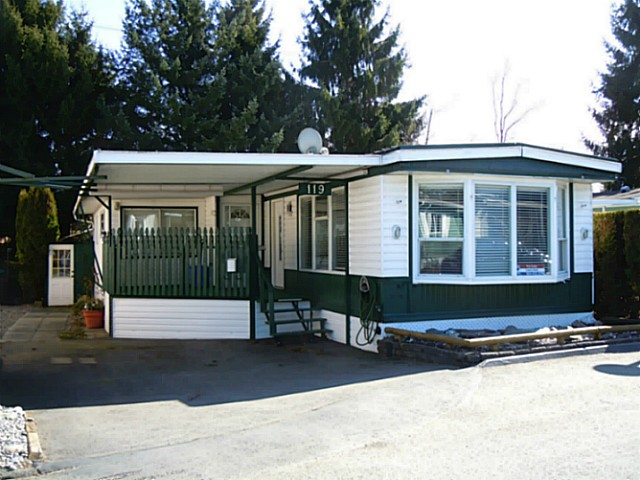 "Main Photo: 119 15875 20TH Avenue in Surrey: King George Corridor Manufactured Home for sale in ""Searidge Bays"" (South Surrey White Rock)  : MLS®# F1430914"