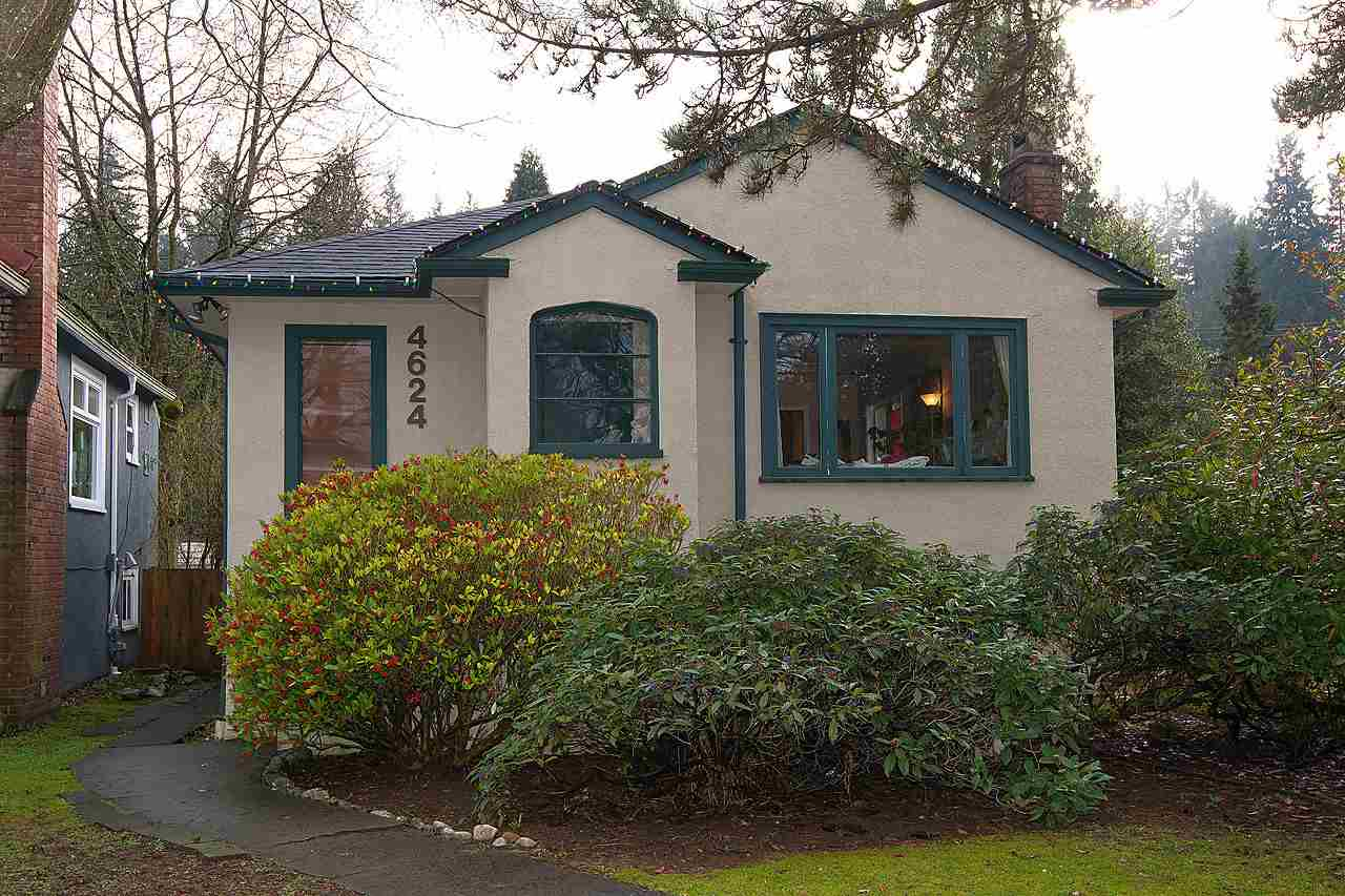 Main Photo: 4624 W 15TH Avenue in Vancouver: Point Grey House for sale (Vancouver West)  : MLS®# R2036824