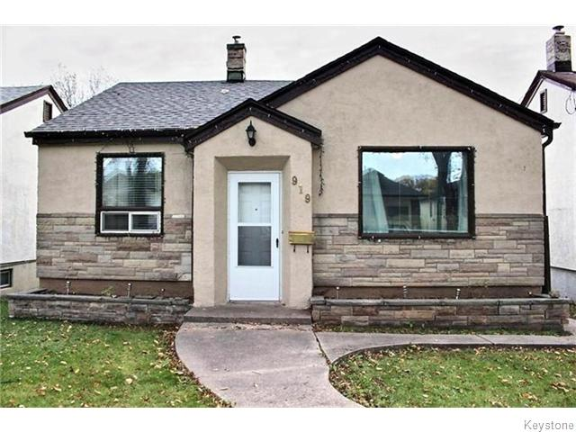 Main Photo: 919 Spruce Street in Winnipeg: Polo Park Residential for sale (5C)  : MLS® # 1627186