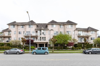"Main Photo: 305 3128 FLINT Street in Port Coquitlam: Glenwood PQ Condo for sale in ""FRASER COURT TERRACE"" : MLS(r) # R2162587"