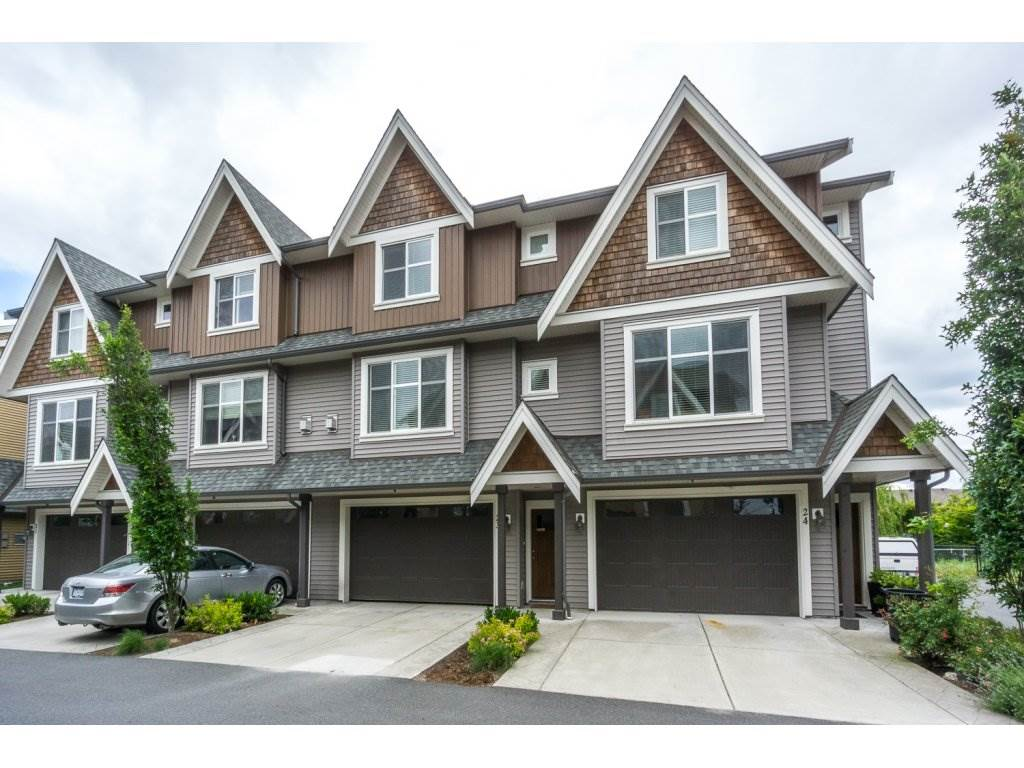 "Main Photo: 23 7428 EVANS Road in Sardis: Sardis West Vedder Rd Townhouse for sale in ""Countryside Estates"" : MLS(r) # R2178092"