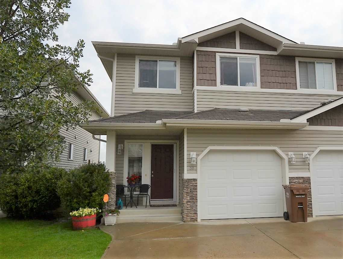 Main Photo: 30 133 EASTGATE Way: St. Albert House Half Duplex for sale : MLS® # E4076658