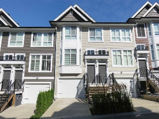 "Main Photo: 59 14433 60 Avenue in Surrey: Sullivan Station Townhouse for sale in ""Brixton"" : MLS®# R2200859"