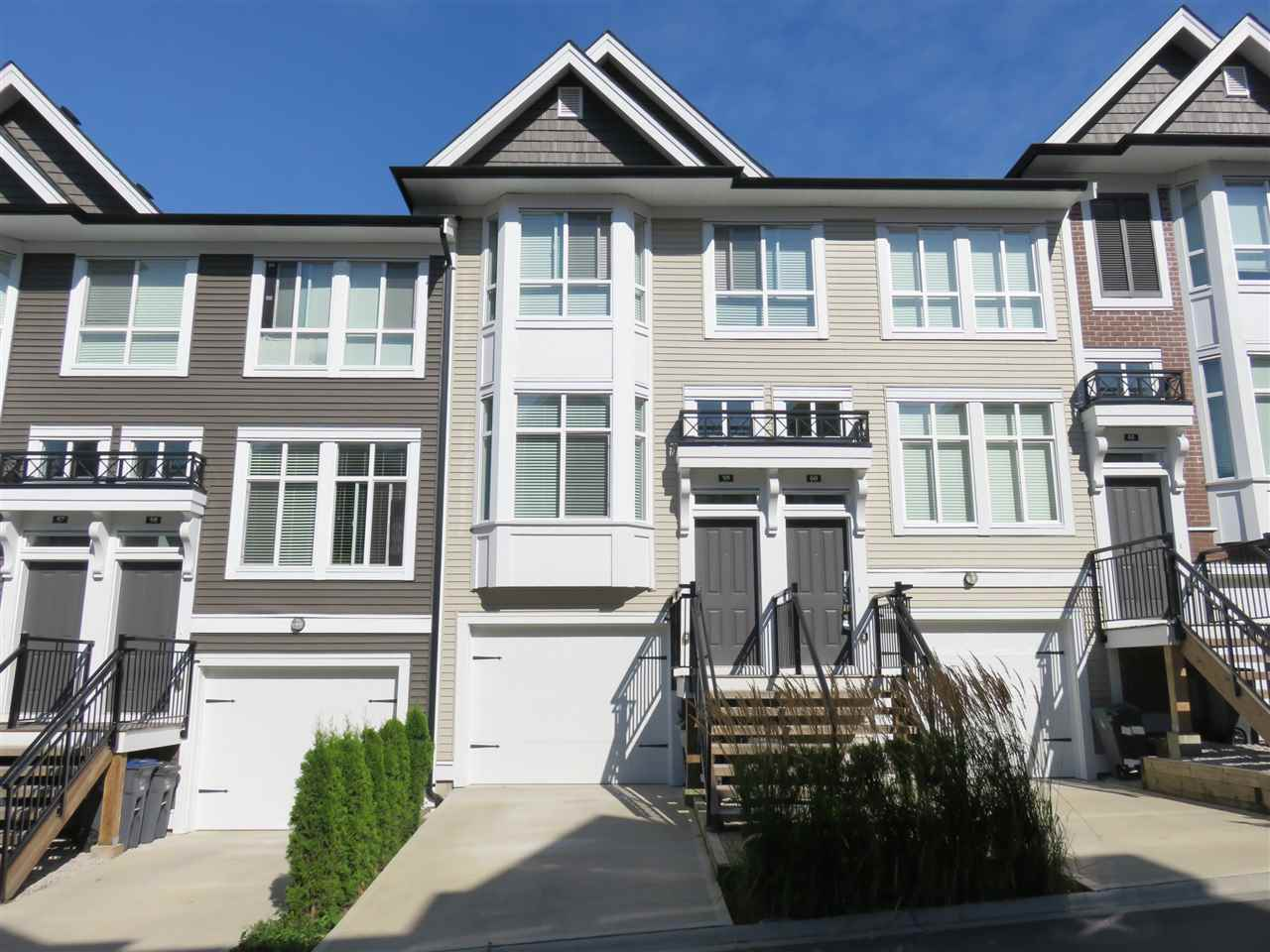 "Main Photo: 59 14433 60 Avenue in Surrey: Sullivan Station Townhouse for sale in ""Brixton"" : MLS® # R2200859"