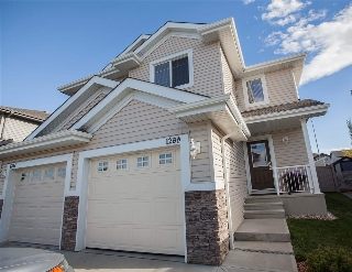 Main Photo: 1289 CUNNINGHAM Drive in Edmonton: Zone 55 House Half Duplex for sale : MLS® # E4081613