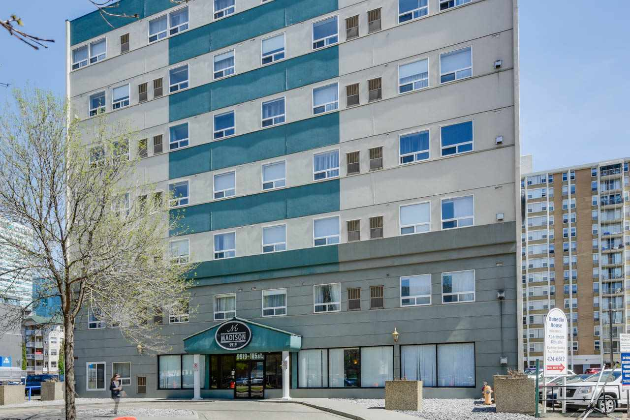 Main Photo: 307 9919 105 Street in Edmonton: Zone 12 Condo for sale : MLS®# E4110857