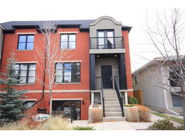 Main Photo: 2 1918 27 Street SW in CALGARY: Killarney Glengarry Townhouse for sale (Calgary)  : MLS®# C3499818