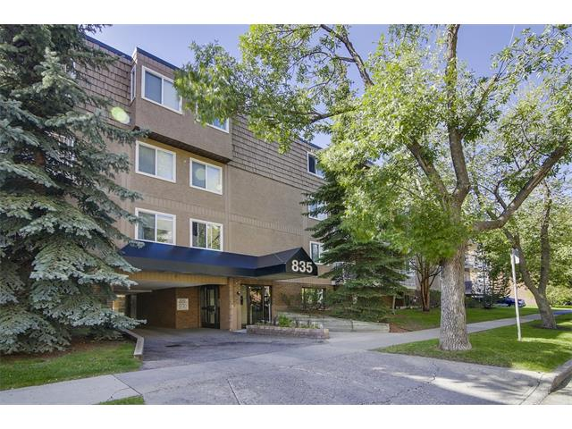 Main Photo: 835 19 AV SW in Calgary: Lower Mount Royal Condo for sale : MLS® # C4032189
