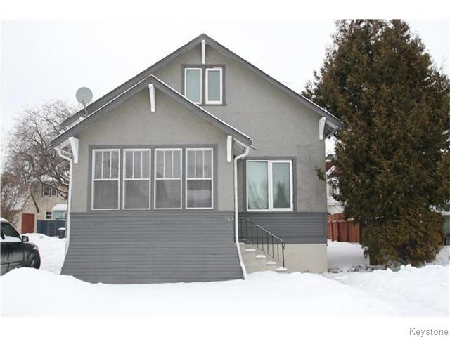Main Photo: 163 Martin Avenue in Winnipeg: East Kildonan Residential for sale (North East Winnipeg)  : MLS® # 1604820