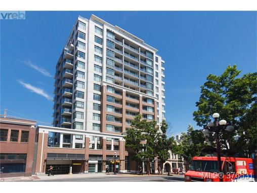 Main Photo: 512 728 Yates Street in VICTORIA: Vi Downtown Condo Apartment for sale (Victoria)  : MLS® # 376531