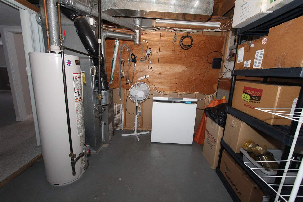 Utility and Storage Room