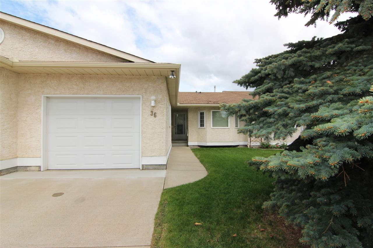 Main Photo: 36 9375 172 Street in Edmonton: Zone 20 House Half Duplex for sale : MLS(r) # E4065819