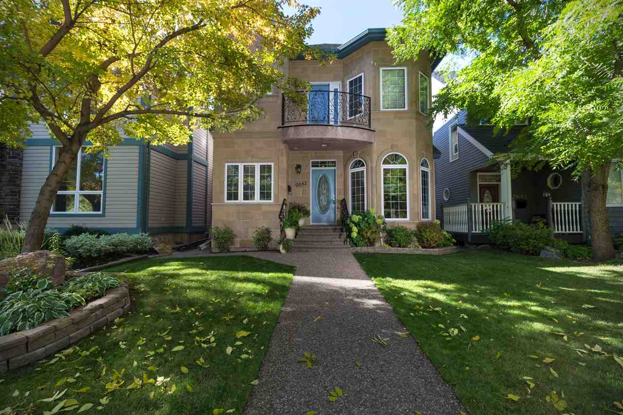 Main Photo: 9642 95 Street in Edmonton: Zone 18 House for sale : MLS® # E4083880