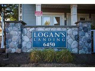 "Main Photo: 67 6450 199 Street in Langley: Willoughby Heights Townhouse for sale in ""LOGAN'S LANDING"" : MLS®# R2220002"
