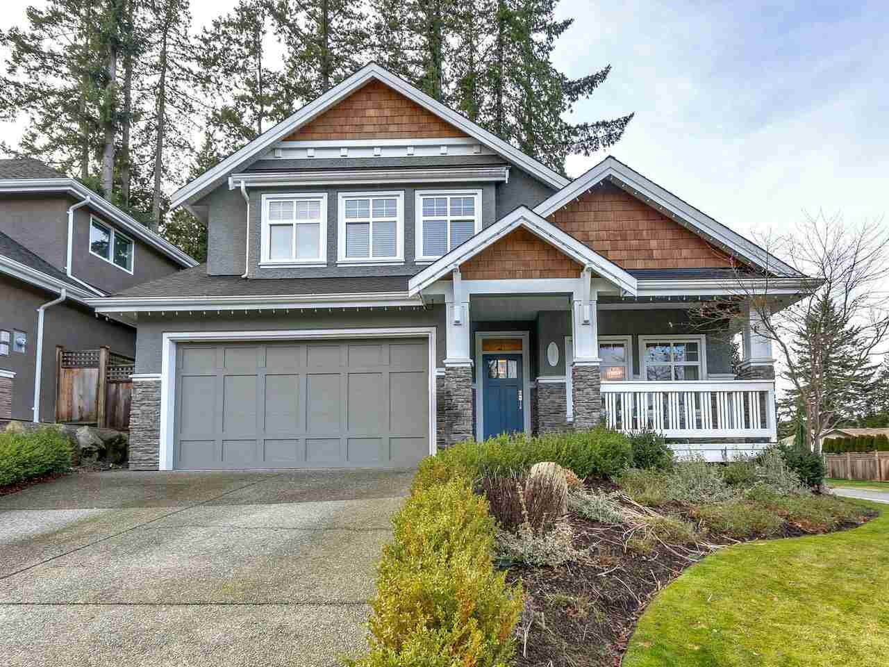 "Main Photo: 2957 147A Street in Surrey: Elgin Chantrell House for sale in ""Heritage Trails"" (South Surrey White Rock)  : MLS®# R2235553"