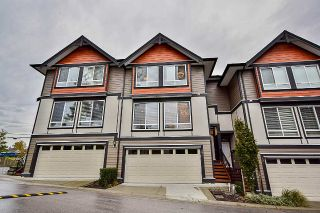 "Main Photo: 37 6378 142 Street in Surrey: Sullivan Station Townhouse for sale in ""Kendra"" : MLS®# R2258748"