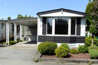 "Main Photo: 43 8560 156 Street in Surrey: Fleetwood Tynehead Manufactured Home for sale in ""West Villa Estate"" : MLS®# R2281813"
