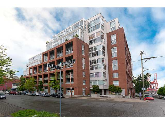 "Main Photo: 422 289 ALEXANDER Street in Vancouver: Hastings Condo for sale in ""THE EDGE"" (Vancouver East)  : MLS®# V890176"