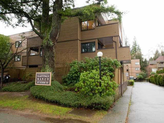"Main Photo: 106 3275 MOUNTAIN Highway in North Vancouver: Lynn Valley Condo for sale in ""Hastings Manor"" : MLS® # V1143213"