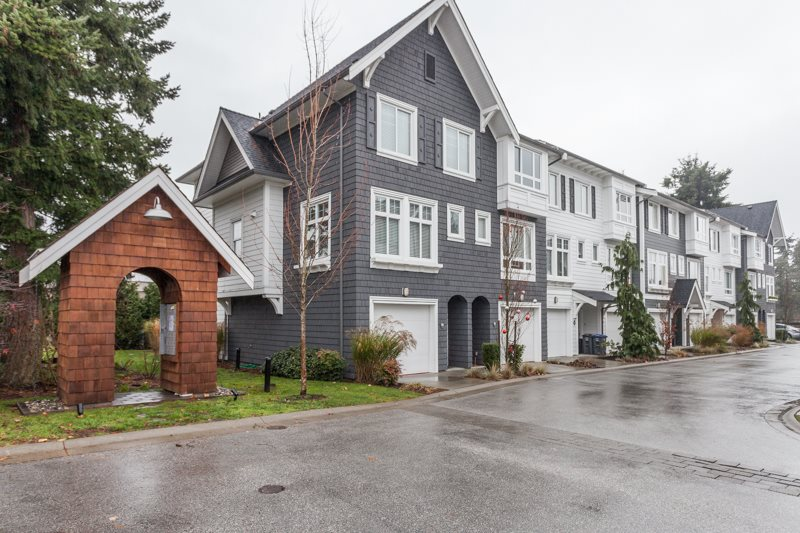 "Main Photo: 17 2487 156 Street in Surrey: King George Corridor Townhouse for sale in ""DAWSON SAWYER/SUNNYSIDE"" (South Surrey White Rock)  : MLS® # R2018527"