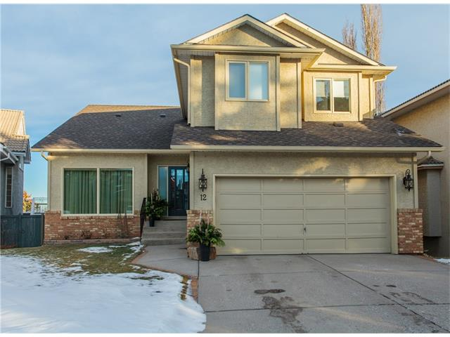 Main Photo: 12 SIGNAL RIDGE Court SW in Calgary: Signal Hill House for sale : MLS® # C4042842