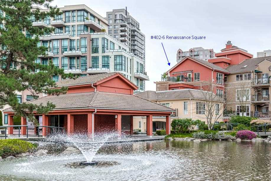 "Main Photo: 402 6 RENAISSANCE Square in New Westminster: Quay Condo for sale in ""RAILTO"" : MLS® # R2045554"