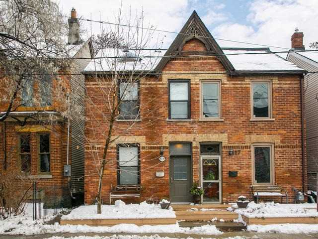 Main Photo: 119 Hamilton Street in Toronto: South Riverdale House (2 1/2 Storey) for sale (Toronto E01)  : MLS®# E3681765