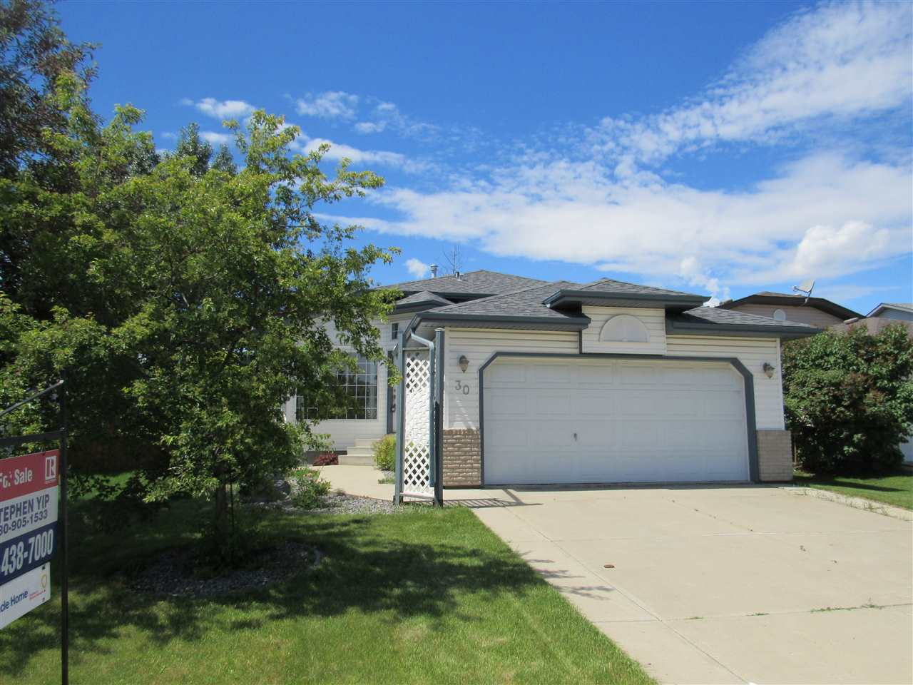 Main Photo: 30 dundas Place: St. Albert House for sale : MLS(r) # E4054709