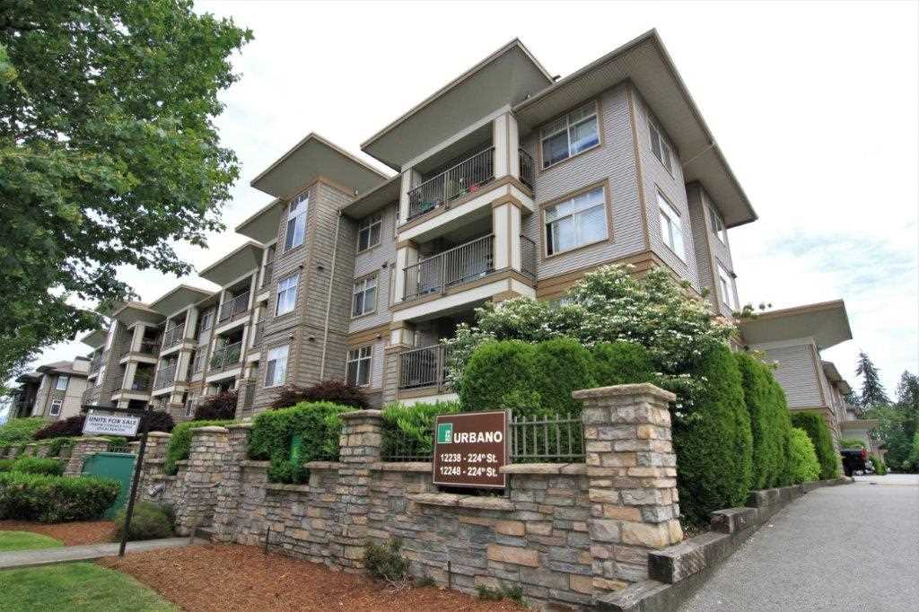 "Main Photo: 412 12248 224 Street in Maple Ridge: East Central Condo for sale in ""URBANO"" : MLS®# R2272183"