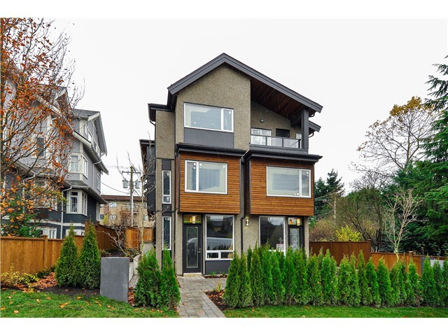 "Main Photo: 1806 E PENDER Street in Vancouver: Hastings Townhouse for sale in ""AZALEA HOMES"" (Vancouver East)  : MLS® # V1051665"