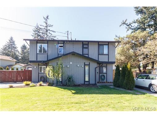Main Photo: 2314A Sooke Road in VICTORIA: Co Hatley Park Strata Duplex Unit for sale (Colwood)  : MLS® # 335743