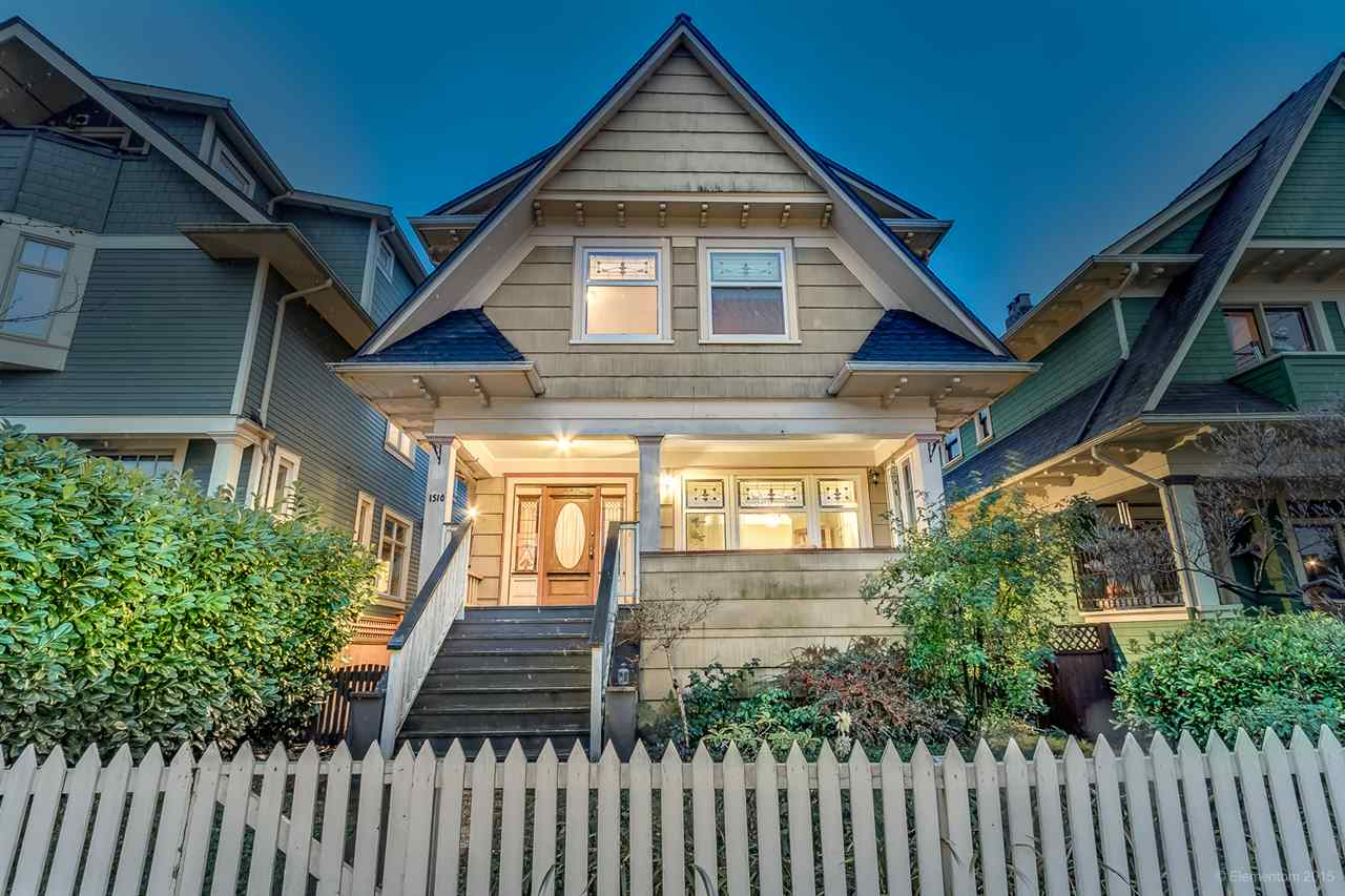 Main Photo: 1510 GRAVELEY Street in Vancouver: Grandview VE House for sale (Vancouver East)  : MLS®# R2017419