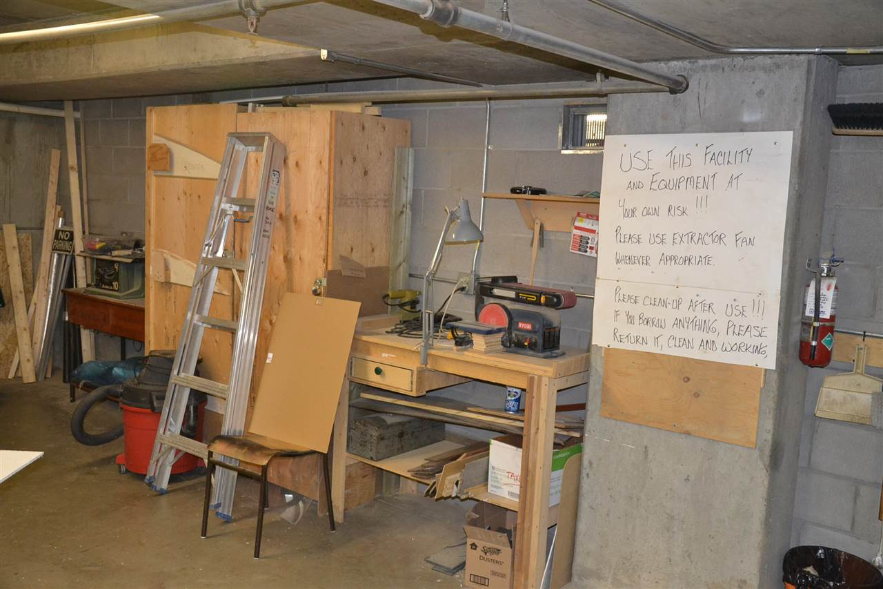 Carpentry, Hobby and Craft room.