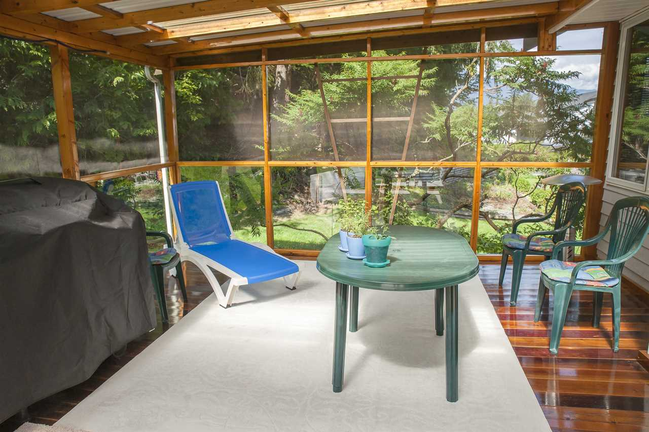 Screened porch addition is an awesome summer place!
