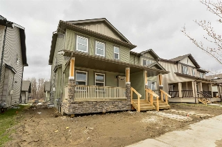 Main Photo: 17324 124 Street in Edmonton: Zone 27 House Half Duplex for sale : MLS(r) # E4061257