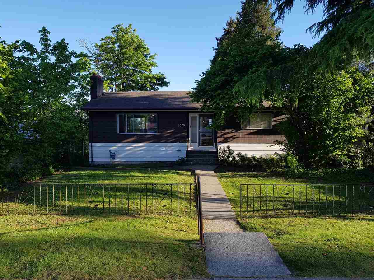 Main Photo: 6378 NEVILLE Street in Burnaby: South Slope House for sale (Burnaby South)  : MLS® # R2170763