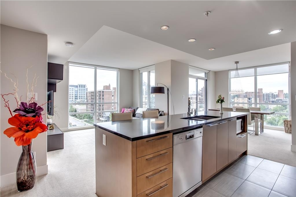 Main Photo: 606 1111 10 Street SW in Calgary: Beltline Condo for sale : MLS® # C4123475